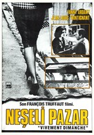 Vivement dimanche! - Turkish Movie Poster (xs thumbnail)