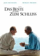 The Bucket List - German Movie Poster (xs thumbnail)