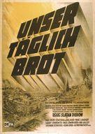 Unser täglich Brot - German Movie Poster (xs thumbnail)