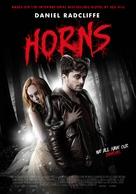 Horns - Dutch Movie Poster (xs thumbnail)