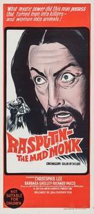 Rasputin: The Mad Monk - Australian Movie Poster (xs thumbnail)