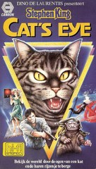 Cat's Eye - Dutch VHS movie cover (xs thumbnail)