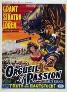 The Pride and the Passion - Belgian Movie Poster (xs thumbnail)
