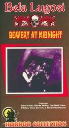 Bowery at Midnight - VHS movie cover (xs thumbnail)