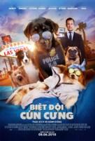 Show Dogs - Vietnamese Movie Poster (xs thumbnail)
