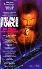 One Man Force - German VHS cover (xs thumbnail)