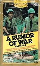 A Rumor of War - Australian VHS movie cover (xs thumbnail)