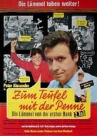 Zum Teufel mit der Penne - Die Lümmel von der ersten Bank, 2. Teil - German Movie Poster (xs thumbnail)
