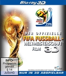 The Official 3D 2010 FIFA World Cup Film - German Blu-Ray cover (xs thumbnail)