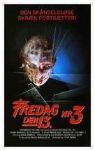 Friday the 13th Part III - Danish Movie Cover (xs thumbnail)