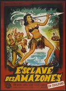 Love Slaves of the Amazons - French Movie Poster (xs thumbnail)