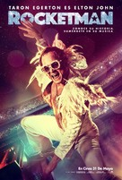 Rocketman - Spanish Movie Poster (xs thumbnail)