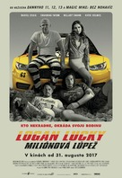Logan Lucky - Slovak Movie Poster (xs thumbnail)