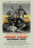 Logan Lucky - Slovak Movie Poster (xs thumbnail)