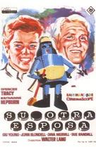 Desk Set - Spanish Movie Poster (xs thumbnail)