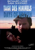 Days of Heaven - German Movie Poster (xs thumbnail)