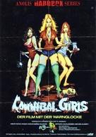 Cannibal Girls - German DVD movie cover (xs thumbnail)