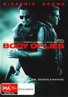Body of Lies - Australian DVD cover (xs thumbnail)