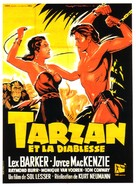 Tarzan and the She-Devil - French Movie Poster (xs thumbnail)