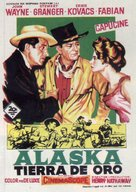 North to Alaska - Spanish Movie Poster (xs thumbnail)