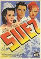 Suez - Swedish Movie Poster (xs thumbnail)