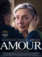 Amour - French Movie Poster (xs thumbnail)
