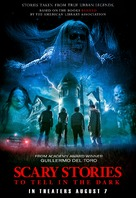 Scary Stories to Tell in the Dark - Philippine Movie Poster (xs thumbnail)