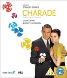 Charade - British Blu-Ray movie cover (xs thumbnail)