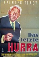 The Last Hurrah - German Movie Poster (xs thumbnail)