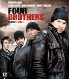 Four Brothers - Belgian Blu-Ray cover (xs thumbnail)