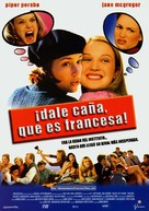 Slap Her... She's French - Spanish Movie Poster (xs thumbnail)