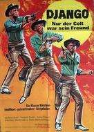 Django spara per primo - German Movie Poster (xs thumbnail)
