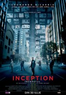 Inception - Romanian Movie Poster (xs thumbnail)
