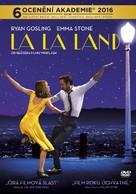 La La Land - Czech DVD movie cover (xs thumbnail)