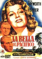 Miss Sadie Thompson - Spanish Movie Poster (xs thumbnail)