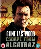 Escape From Alcatraz - British Blu-Ray movie cover (xs thumbnail)