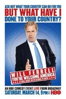 Will Ferrell: You're Welcome America - A Final Night with George W Bush - Movie Poster (xs thumbnail)