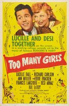 Too Many Girls - Re-release poster (xs thumbnail)