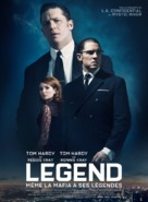 Legend - French Movie Poster (xs thumbnail)