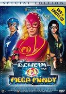 Het geheim van Mega Mindy - Belgian DVD cover (xs thumbnail)
