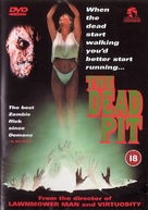 The Dead Pit - British DVD cover (xs thumbnail)