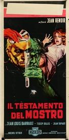 Le testament du Docteur Cordelier - Italian Movie Poster (xs thumbnail)