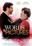 Words and Pictures - Swiss Movie Poster (xs thumbnail)