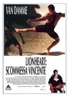 Lionheart - Italian Movie Poster (xs thumbnail)