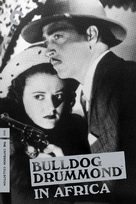 Bulldog Drummond in Africa - DVD movie cover (xs thumbnail)