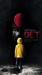 It - Swedish Movie Poster (xs thumbnail)