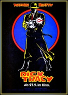 Dick Tracy - German Movie Poster (xs thumbnail)