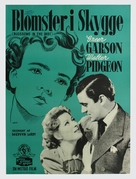 Blossoms in the Dust - Danish Movie Poster (xs thumbnail)