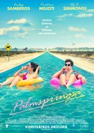 Palm Springs - Latvian Movie Poster (xs thumbnail)