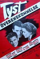 Gentleman's Agreement - Swedish Movie Poster (xs thumbnail)